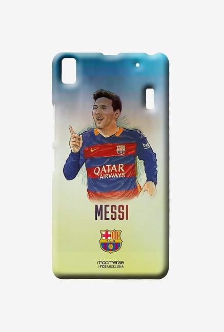 Macmerise Illustrated Messi Sublime Case for Lenovo K3 Note