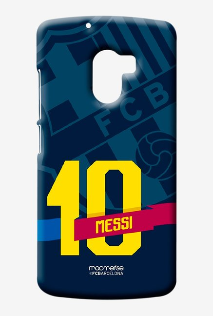 Macmerise Classic Messi Sublime Case for Lenovo K4 Note