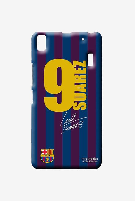 Macmerise Jersey Suarez Sublime Case for Lenovo K3 Note