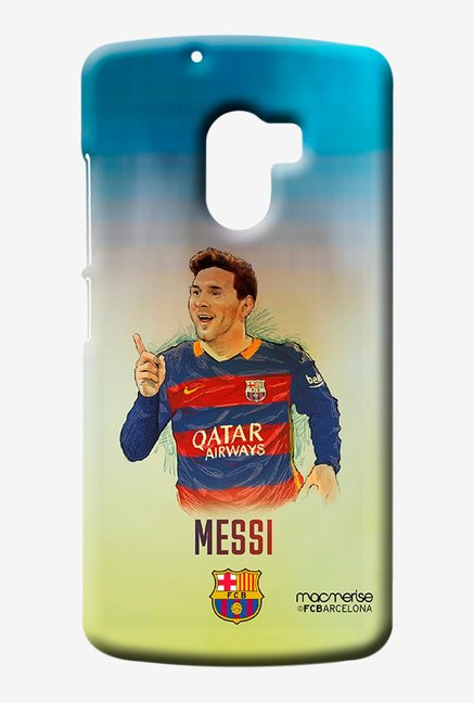 Macmerise Illustrated Messi Sublime Case for Lenovo K4 Note