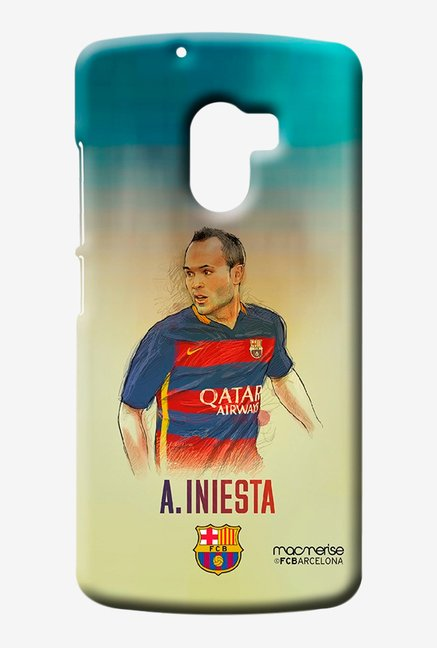 Macmerise Illustrated Iniesta Sublime Case for K4 Note