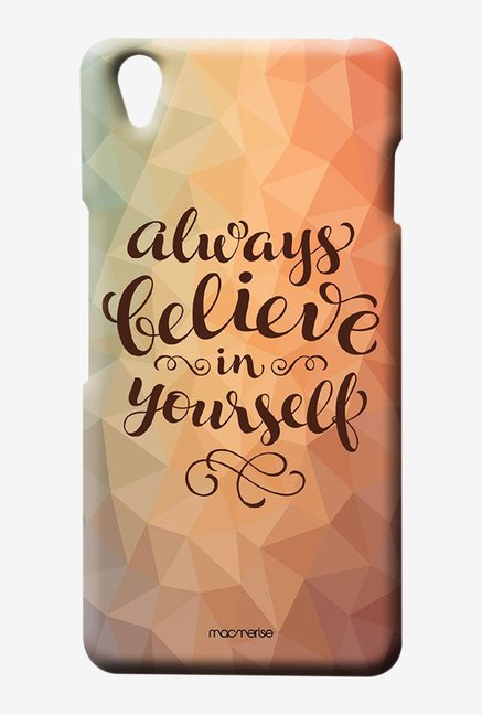 Macmerise Believe In Yourself Sublime Case for Oneplus X