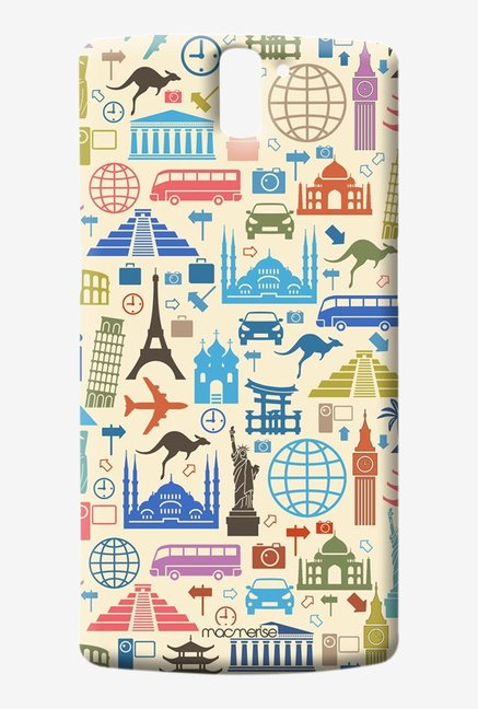 Macmerise Travel Lover Sublime Case for Oneplus One