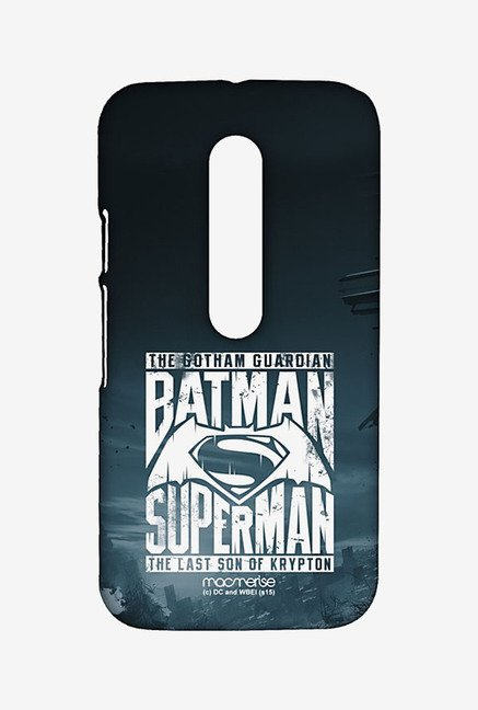 Macmerise Gotham vs Krypton Blue Sublime Case for Moto G3