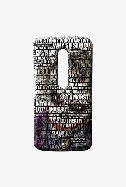 Macmerise Joker Quotes Sublime Case for Moto X Play