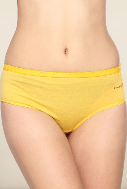 Lovable Yellow Solid Briefs (Pack of 3)