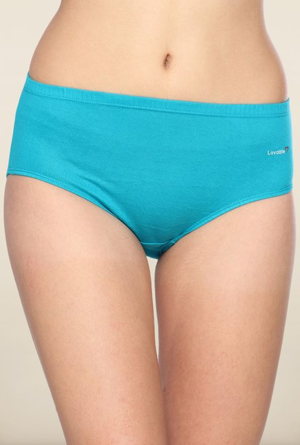 Lovable Blue Solid Briefs (Pack of 3)
