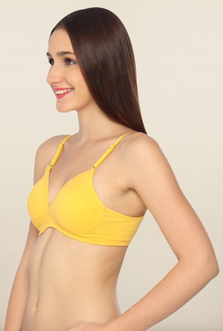 Lovable Yellow Padded Seamless Bra