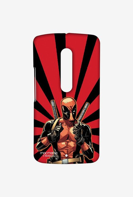Macmerise Smart Ass Deadpool Sublime Case for Moto X Play