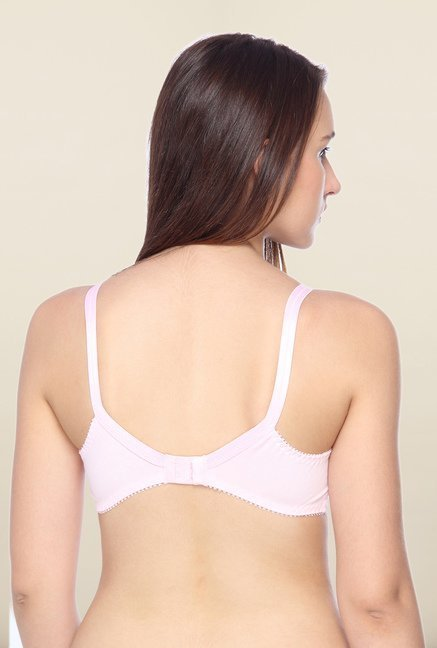 Lovable Pink Full Coverage Non-Wired Bra