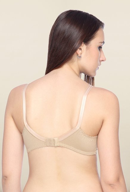 Lovable Beige Non-Wired Convertible Bra