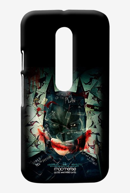 Macmerise Bat Joker Sublime Case for Moto G3
