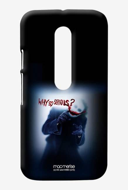 Macmerise Why So serious Sublime Case for Moto G3