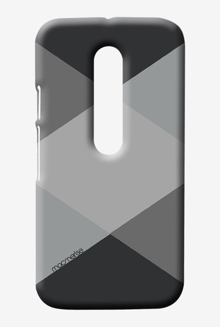 Macmerise Criss Cross Grey Sublime Case for Moto G3