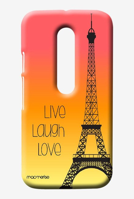 Macmerise Live Laugh Love Sublime Case for Moto G3
