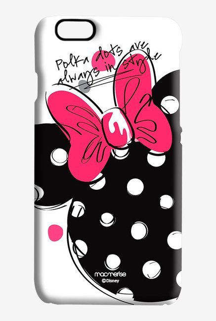 Macmerise Polka Minnie Pro Case for iPhone 6S