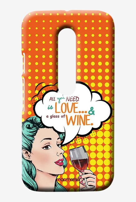 Macmerise Miss Wine Sublime Case for Moto G3