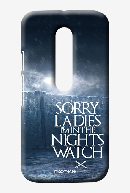 Macmerise Nights Watch Sublime Case for Moto G3