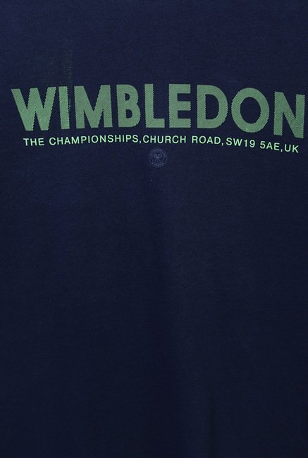 Allen Solly Navy Wimbledon T-Shirt