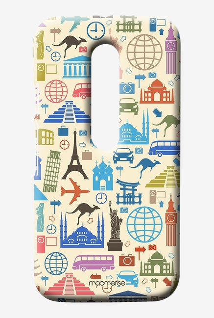 Macmerise Travel Lover Sublime Case for Moto G3