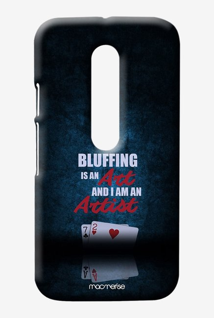 Macmerise Art of Bluffing Sublime Case for Moto G3