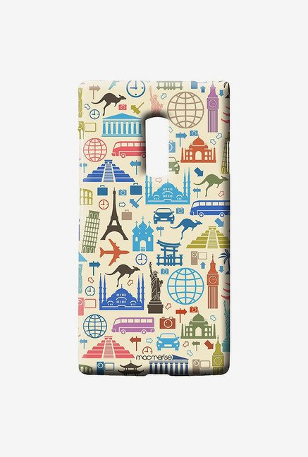 Macmerise Travel Lover Sublime Case for Oneplus Two