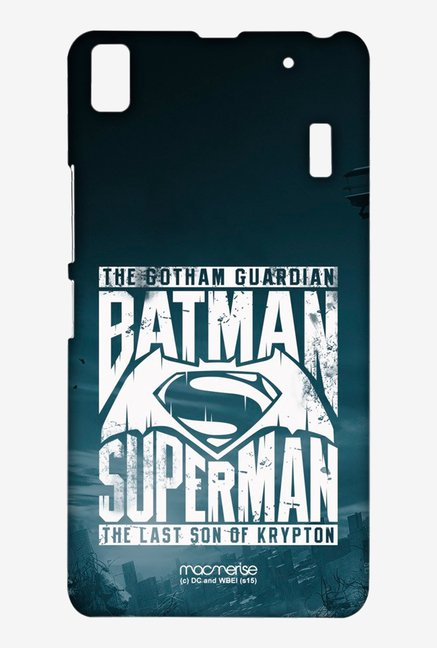 Macmerise Gotham vs Krypton Blue Sublime Case for K3 Note