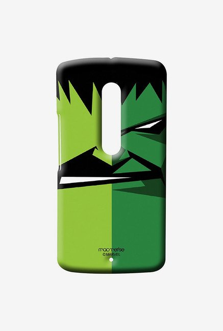 Macmerise Face Focus Hulk Sublime Case for Moto X Play