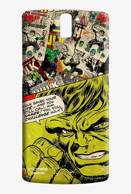 Macmerise Comic Hulk Sublime Case for Oneplus One
