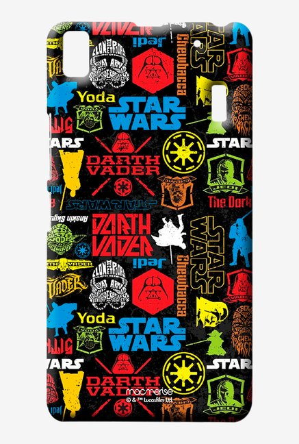 Macmerise Star Wars Mashup Sublime Case for Lenovo K3 Note