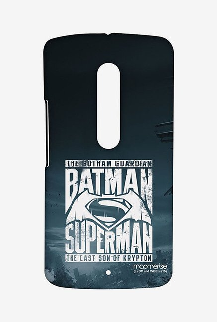 Macmerise Gotham vs Krypton Blue Sublime Case for MotoX Play