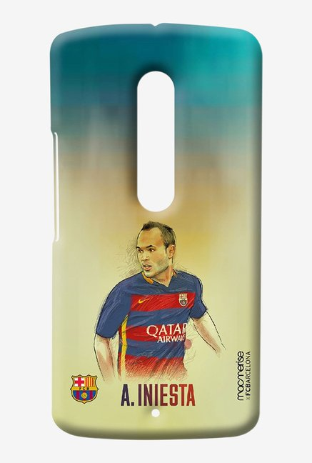 Macmerise Illustrated Iniesta Sublime Case for Moto X Play