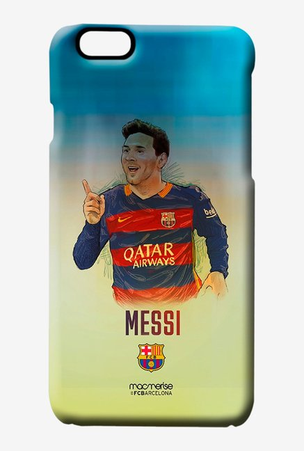 Macmerise Illustrated Messi Pro Case for iPhone 6S