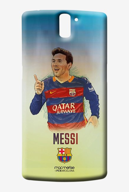 Macmerise Illustrated Messi Sublime Case for Oneplus One
