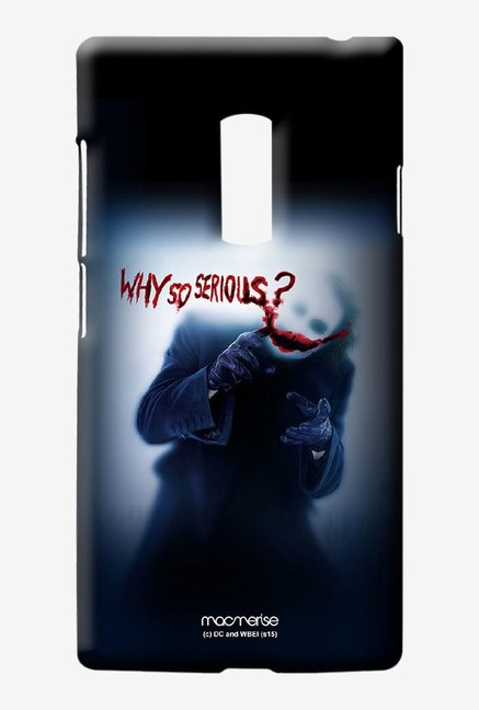 Macmerise Why So serious Sublime Case for Oneplus Two