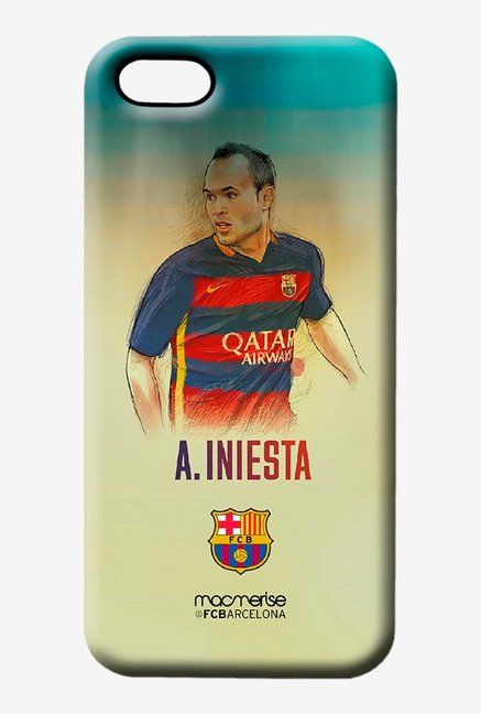 Macmerise Illustrated Iniesta Pro Case for iPhone 5/5S