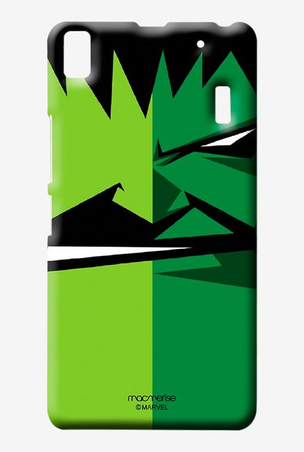 Macmerise Face Focus Hulk Sublime Case for Lenovo K3 Note