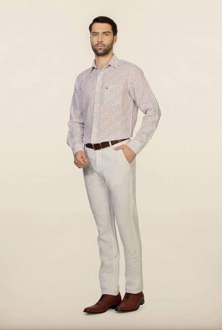 Allen Solly Multicolour Printed Slim Fit Shirt