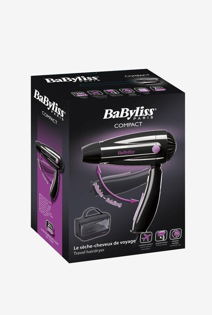 Babyliss 5250E 1200 W Hair Dryer Black