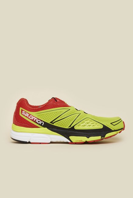 Salomon X-Scream 3D Green Running Shoes