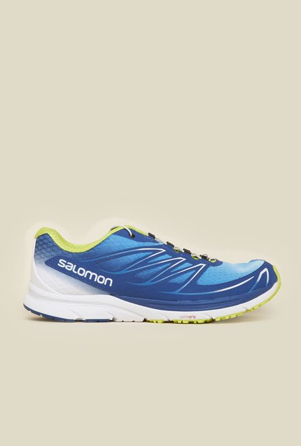 Salomon Sense Mantra 3 Blue & Green Running Shoes