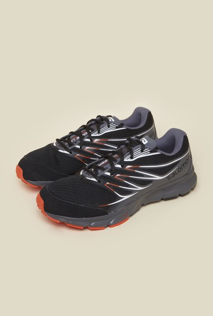 Salomon Sense Link Black Running Shoes