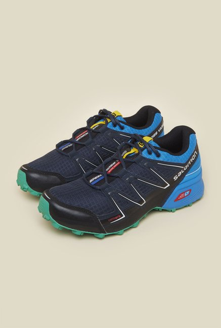 Salomon Speedcross Vario Blue Running Shoes