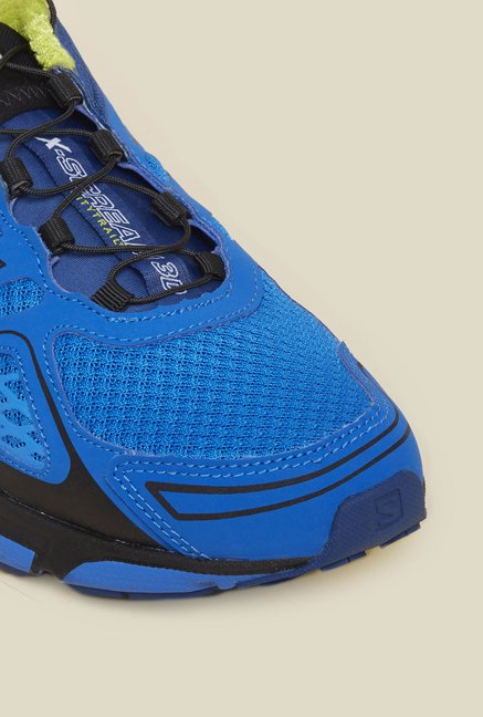 Salomon X-Scream 3D Blue Running Shoes