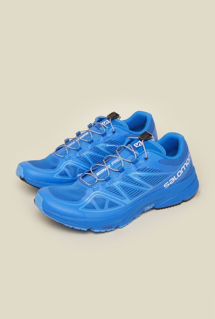 Salomon Sonic Pro Blue Running Shoes