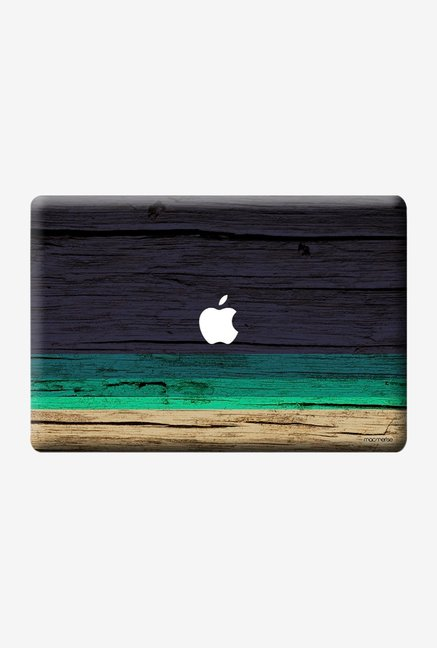 "Macmerise Wood Stripes Blue Skin for 15"" MacBook Pro"