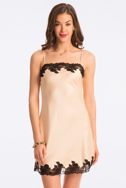 Pretty Secrets Gold Solid Chemise