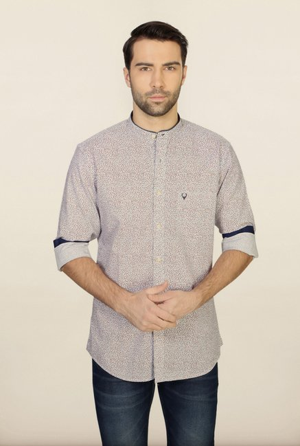 Allen Solly Multicolour Printed Casual Shirt
