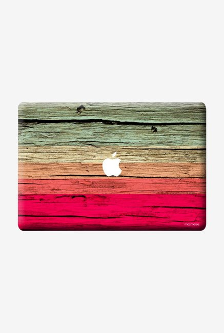 "Macmerise Wood Stripes Fuschia Skin for 11"" MacBook Air"
