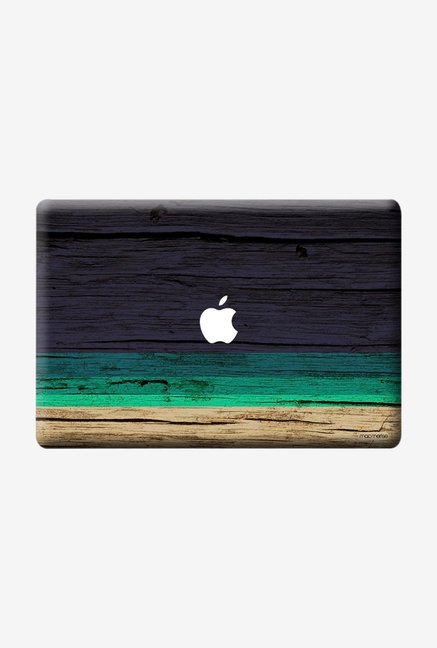 "Macmerise Wood Stripes Blue Skin for 13"" MacBook Pro"